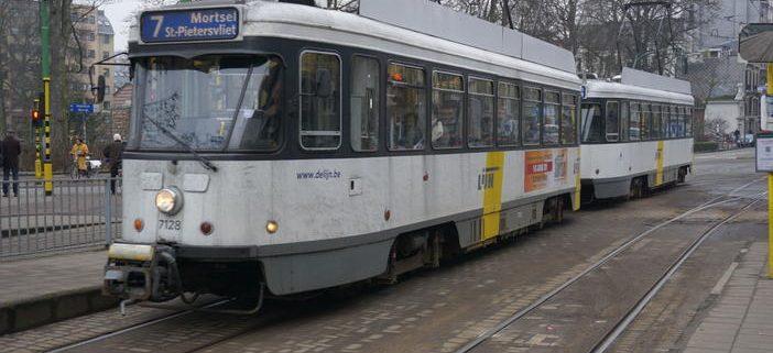 EindhalteGroenplaatsNoorderlijnSint PietersvlietTram 7