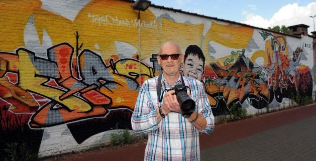 "Delen Tweet Google+ Mail 66 shares Dirk Vervoort: ""Alle graffiti in kaart brengen"""
