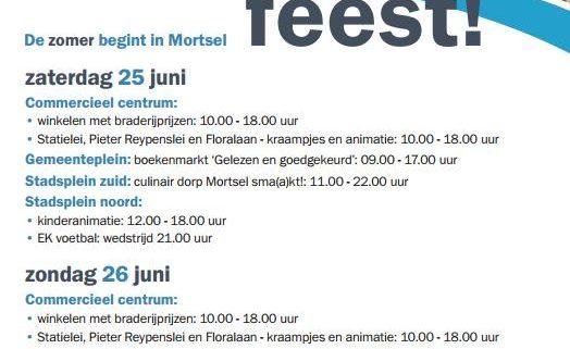 Mortsel feest! - editie 2017