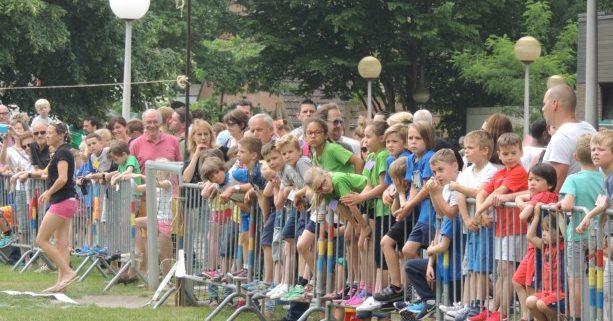 FOTO. Scholen racen tegen elkaar tijdens veldloop De Wilg