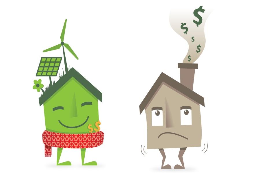 Duurzame renovatie van een woning kijk mee wonen in for Huis duurzaam maken
