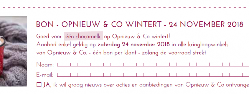 Opnieuw & Co Wintert