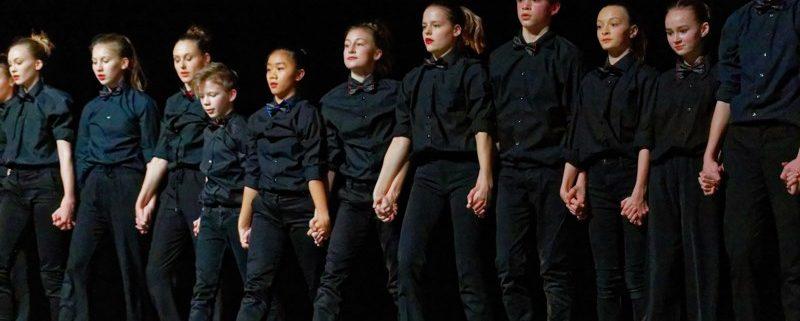 IN BEELD. Dansstudio Arabesque opent 8ste editie van Interdans in cc Mortsel