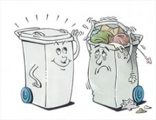 Zet je afval tijdig buiten!