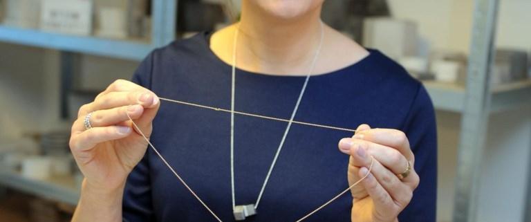 Ontwerpster Danielle Boeur lanceert FermConcept: juwelen en decoratie in beton