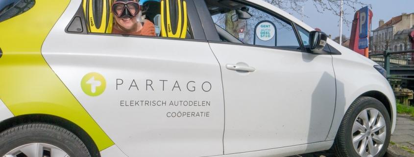 Goed nieuws! Partago deelauto komt naar jou