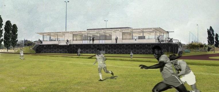 Opening nieuw sportgebouw in Mortsel op het Sportlandschap